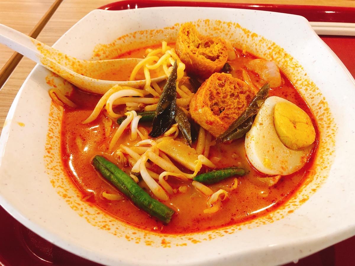 マレーシア料理3位:ラクサ