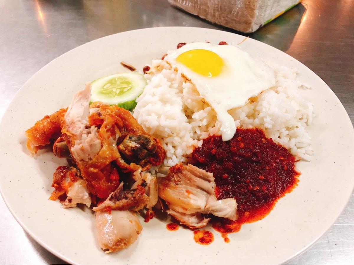 マレーシア料理6位:なしらマーク、ナシアヤン