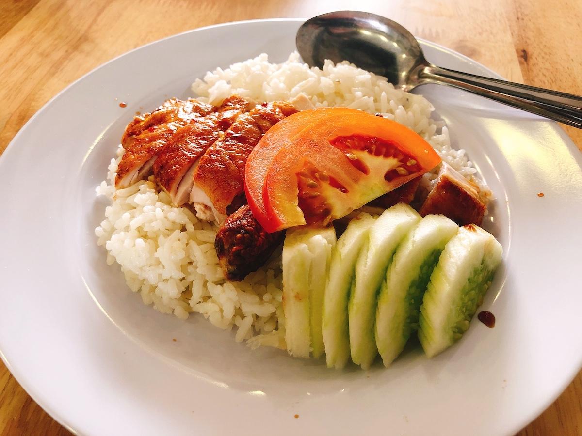 マレーシア料理4位:チキンライス