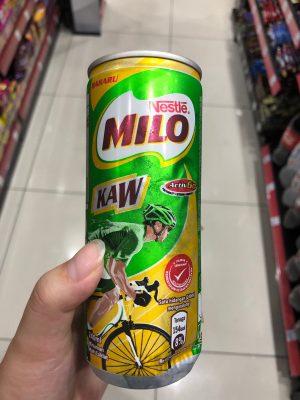 マレーシア milo